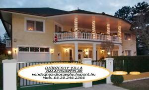 Diószeghy-Villa aprtman, magánszálás Siófok/Balatonszéplak